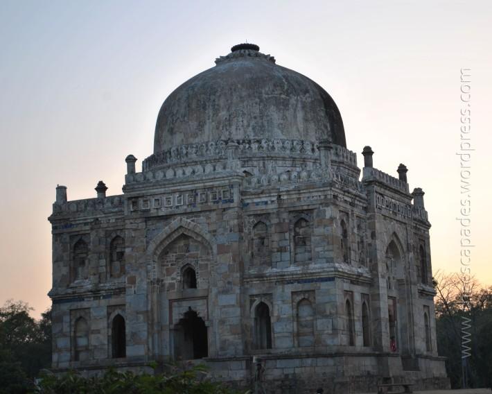 Shish Gumbad, Lodhi Gardens New Delhi - Feb 2013